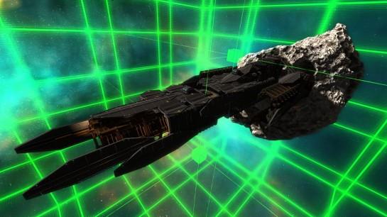 MinerWars - vesmírná loď