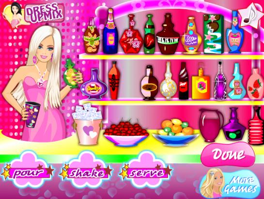 Barbie nápoj lásky