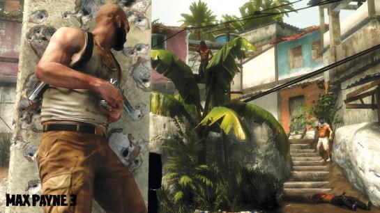 Max Payne 3 se tentokrát odehrává v Brazílii. Nepřipomíná vám to tak trochu Uncharted?!
