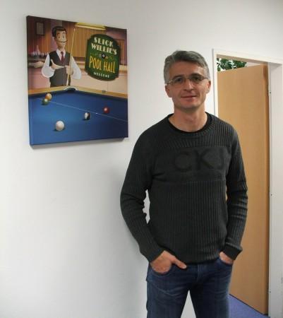Miloš Endrle, zakladatel a šéf české online herní společnosti Geewa, foto: Zelená vopice