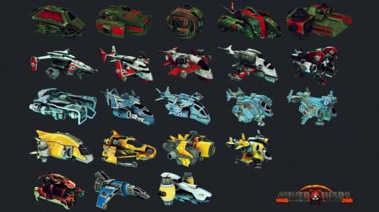 Miner Wars - nové modely lodí
