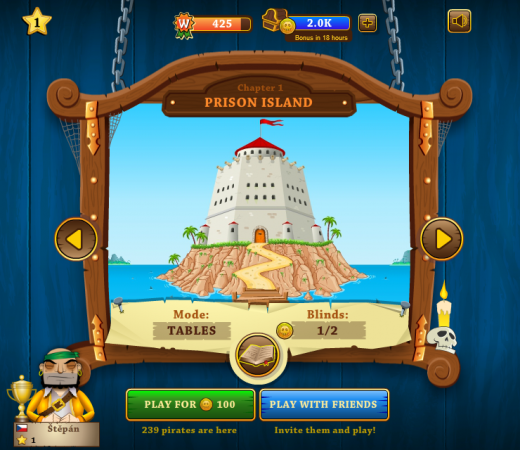 Pirates Poker - novinka z dílny Geewy