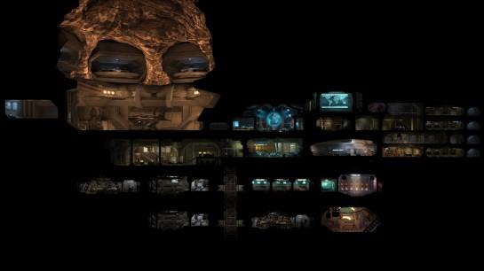 Základny se tentokrát nebudou stavět v pohledu seshora, ale jako v Sim Tower v pohledu ze strany. Na druhou stranu, i v původním UFO: Enemy Unknown fungovala jednotlivá patra budov!