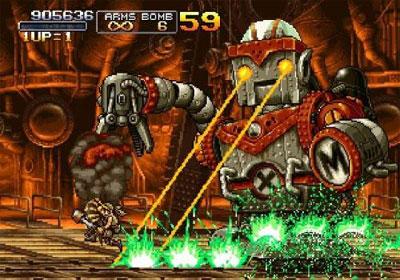 Metal Slug Anthology pro Wii