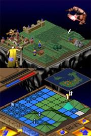 Populous pro Nintendo DS