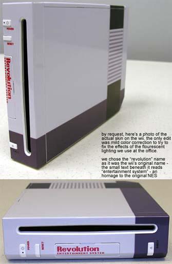 Wii NES Revolution