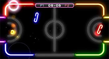 Wii Play stolní hokej
