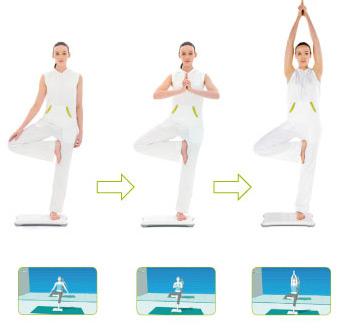 Wii Fit - cvičení